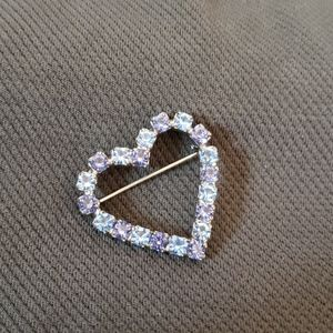 Purple Heart Brooch